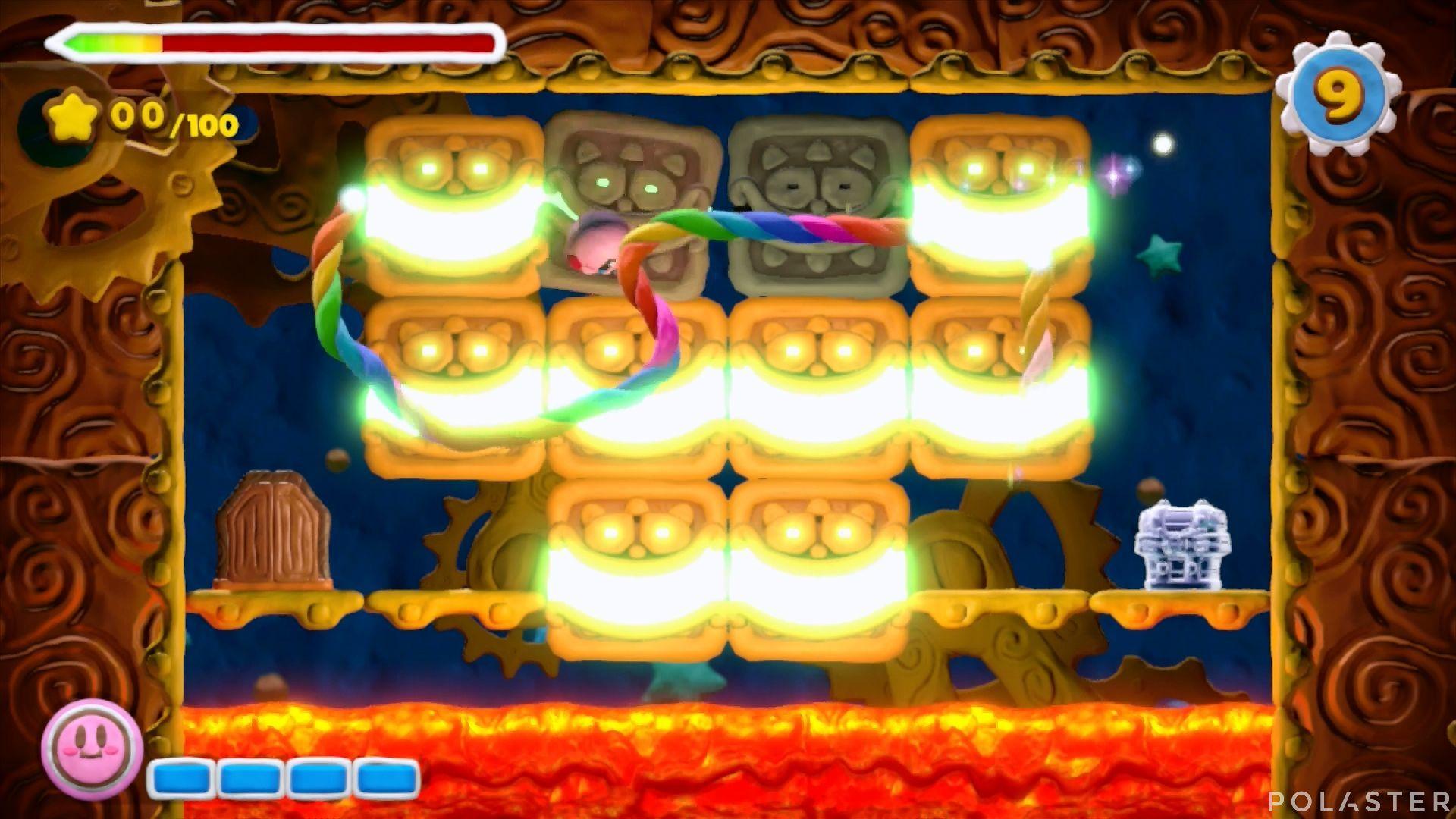 Kirby y el Pincel Arcoíris - Desafío 46: Cofre 2