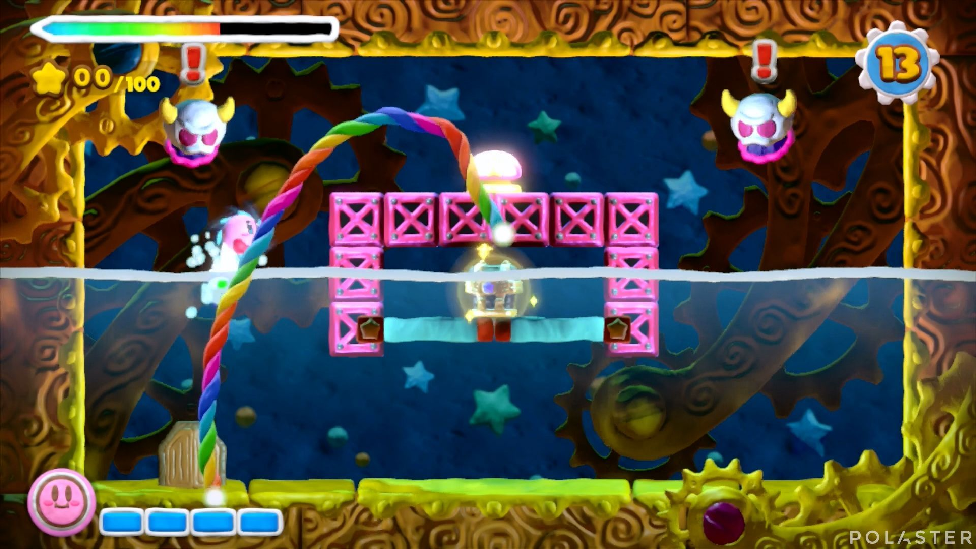 Kirby y el Pincel Arcoíris - Desafío 48: Cofre 5