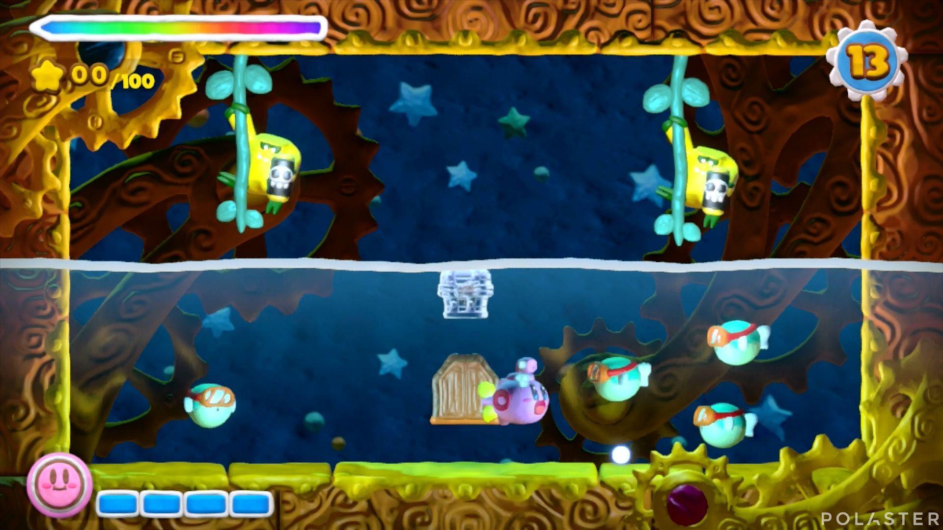 Kirby y el Pincel Arcoíris - Desafío 48: Cofre 6