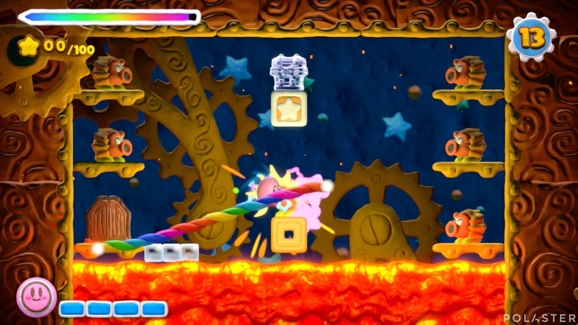 Kirby y el Pincel Arcoíris - Desafío 48: Cofre 8