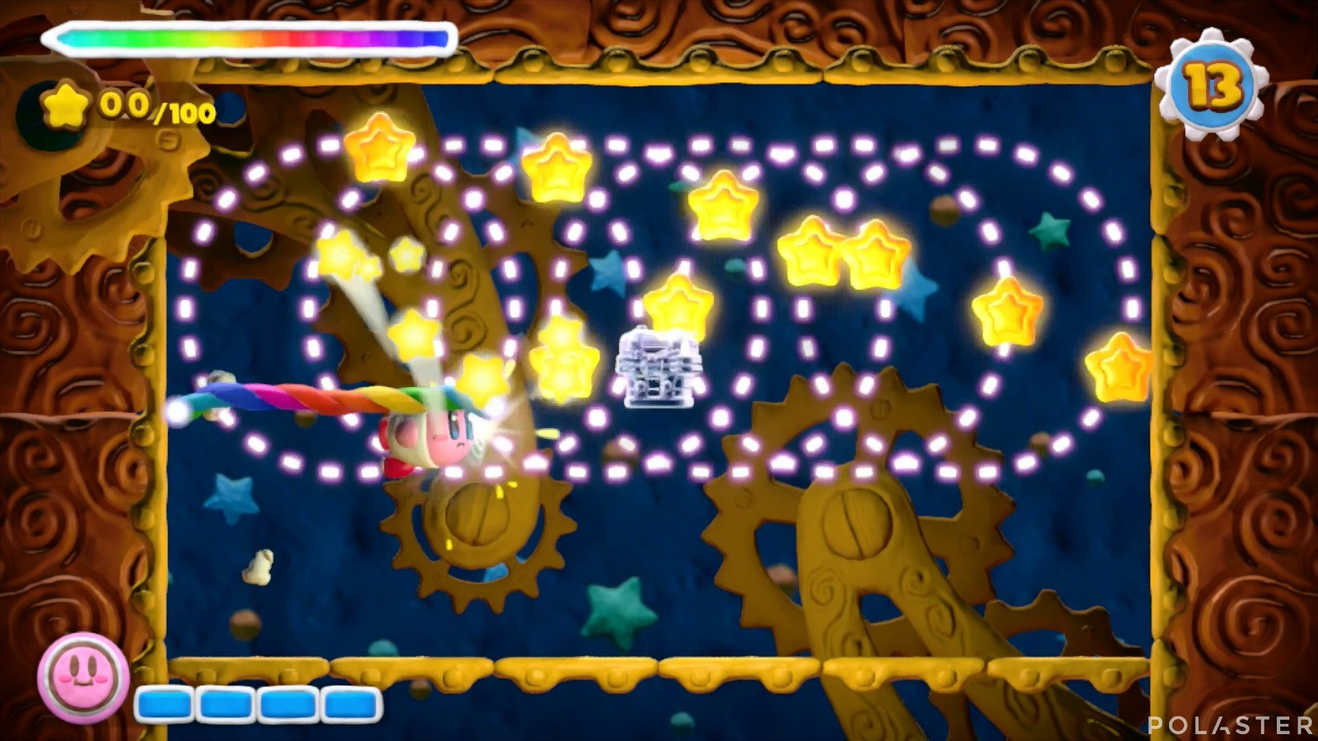 Kirby y el Pincel Arcoíris - Desafío 48: Cofre 9