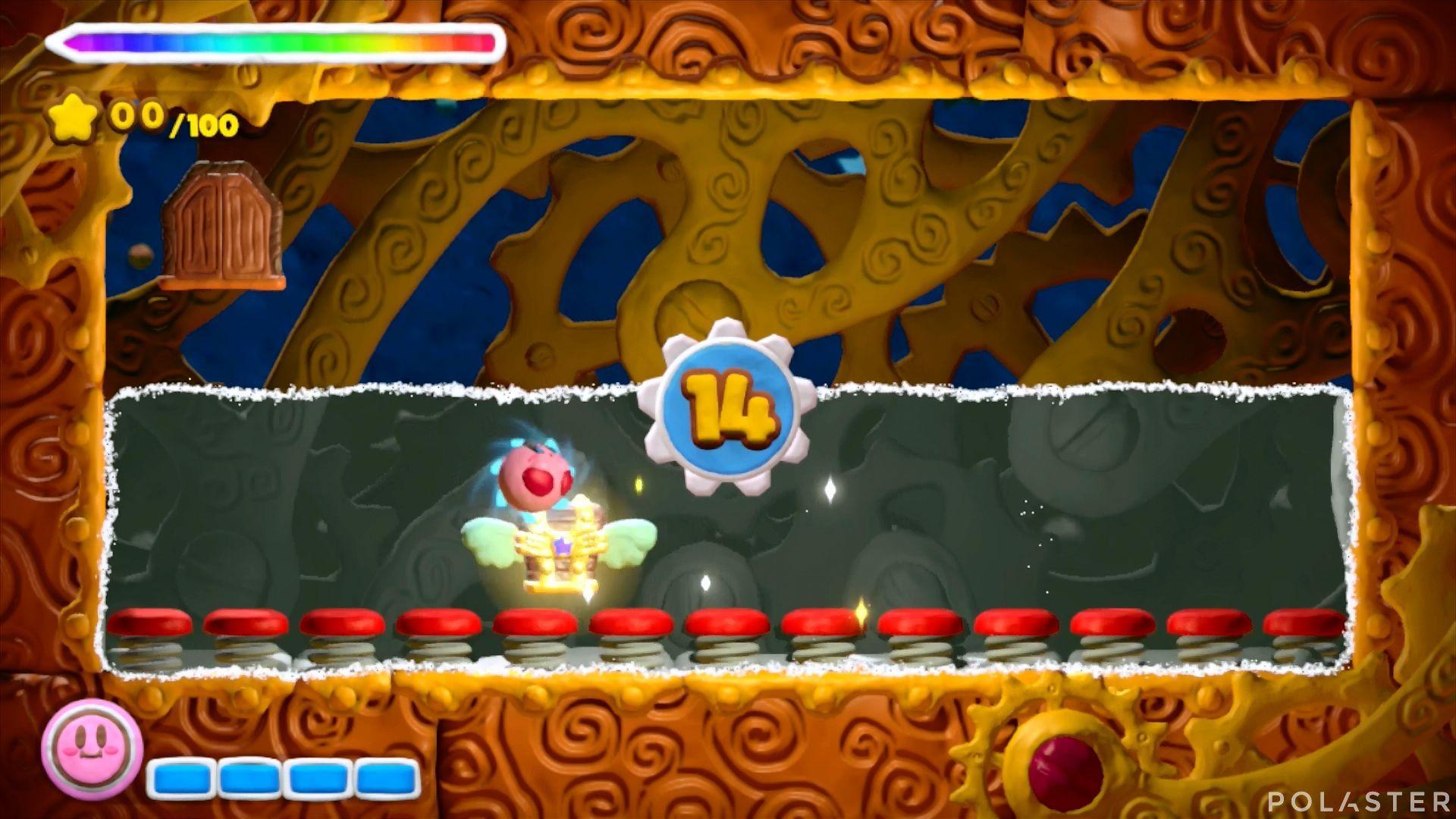 Kirby y el Pincel Arcoíris - Desafío 4 Cofre 1