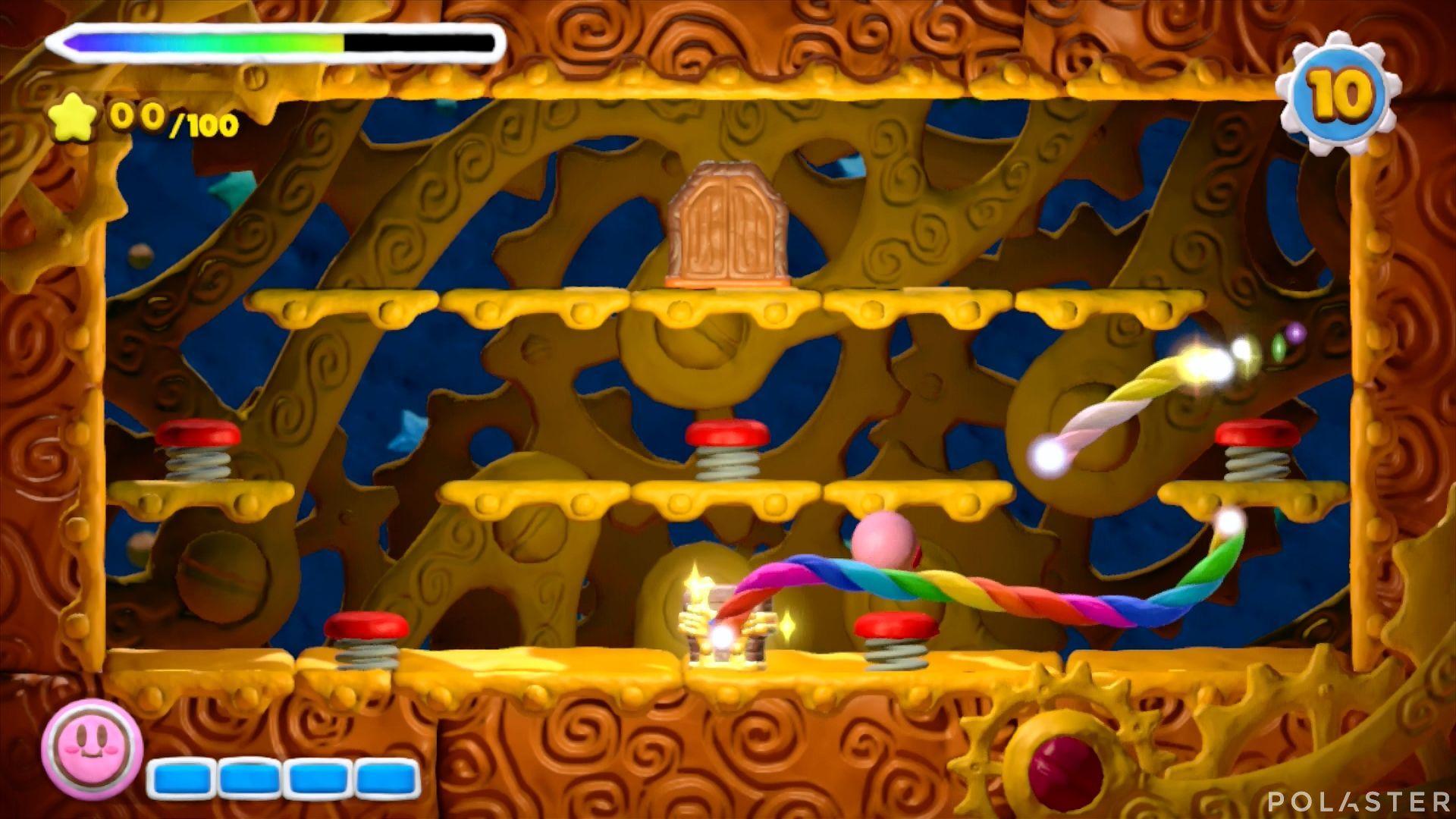 Kirby y el Pincel Arcoíris - Desafío 4 Cofre 2