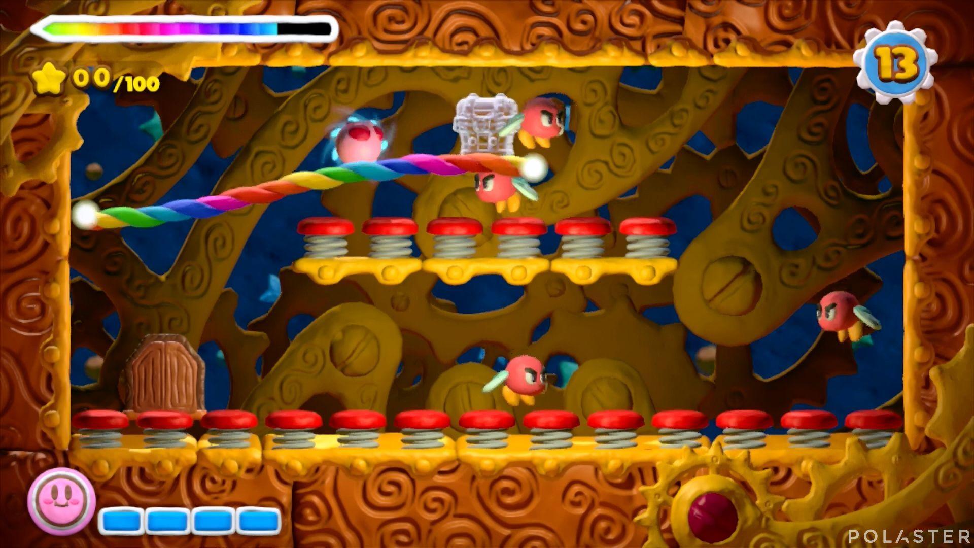 Kirby y el Pincel Arcoíris - Desafío 4 Cofre 4