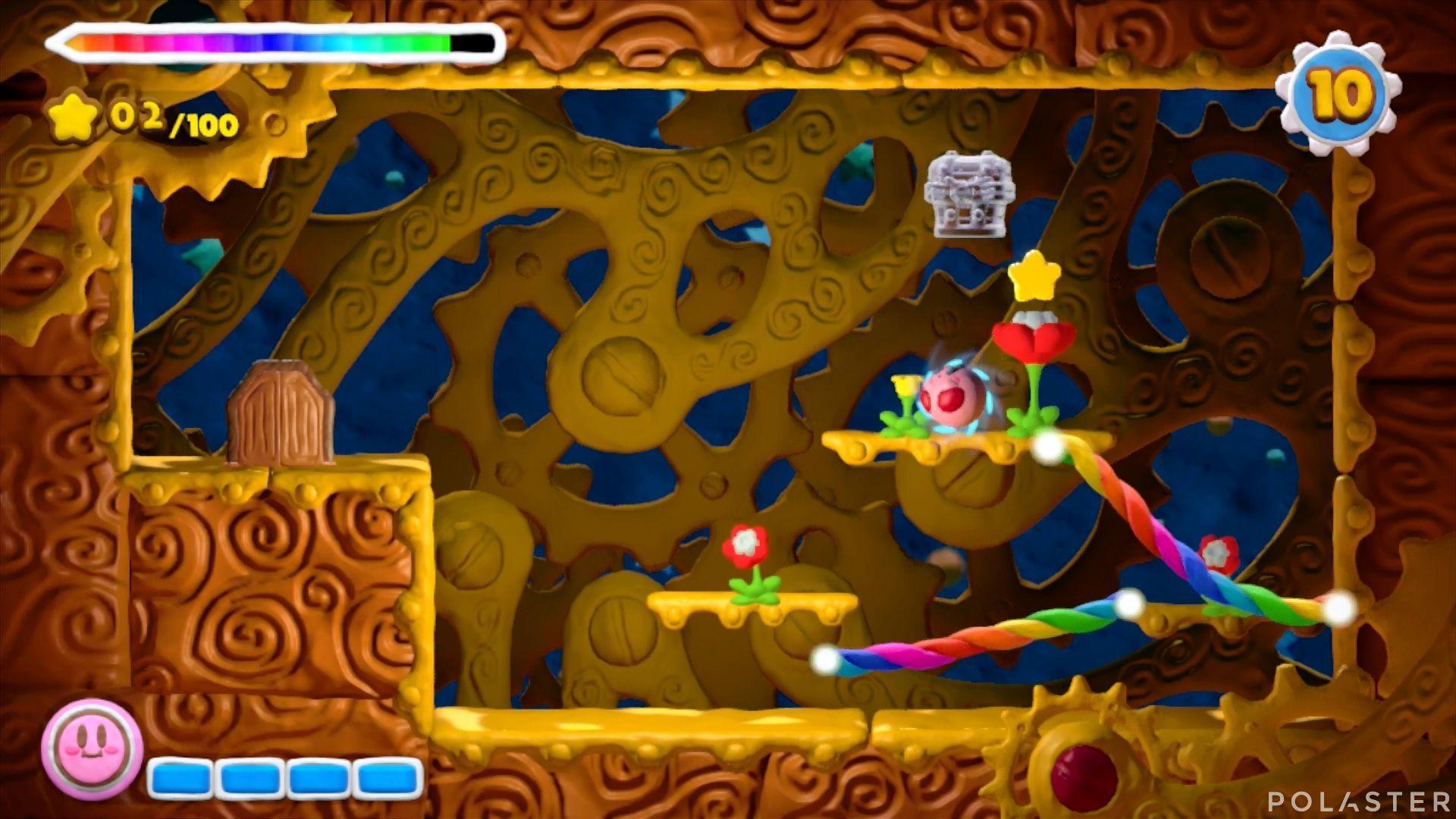 Kirby y el Pincel Arcoíris - Desafío 5 Cofre 3