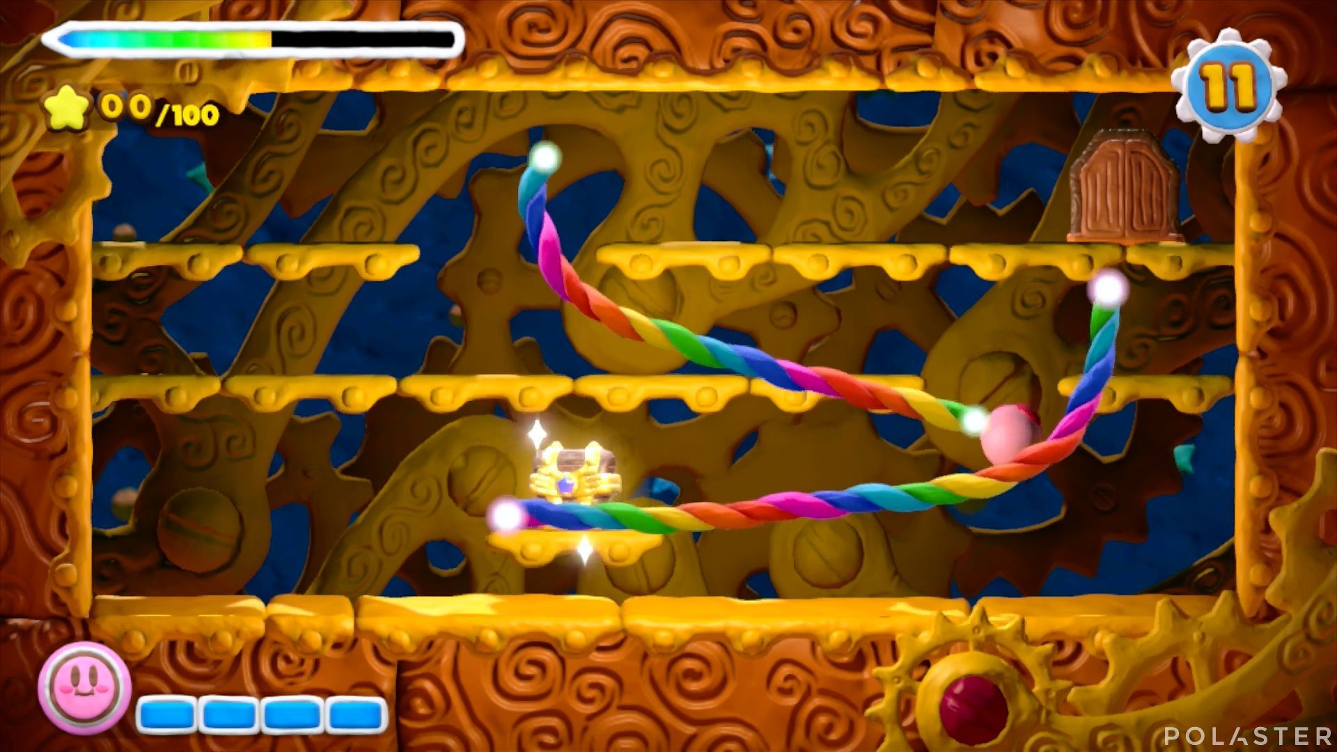 Kirby y el Pincel Arcoíris - Desafío 7 Cofre 2