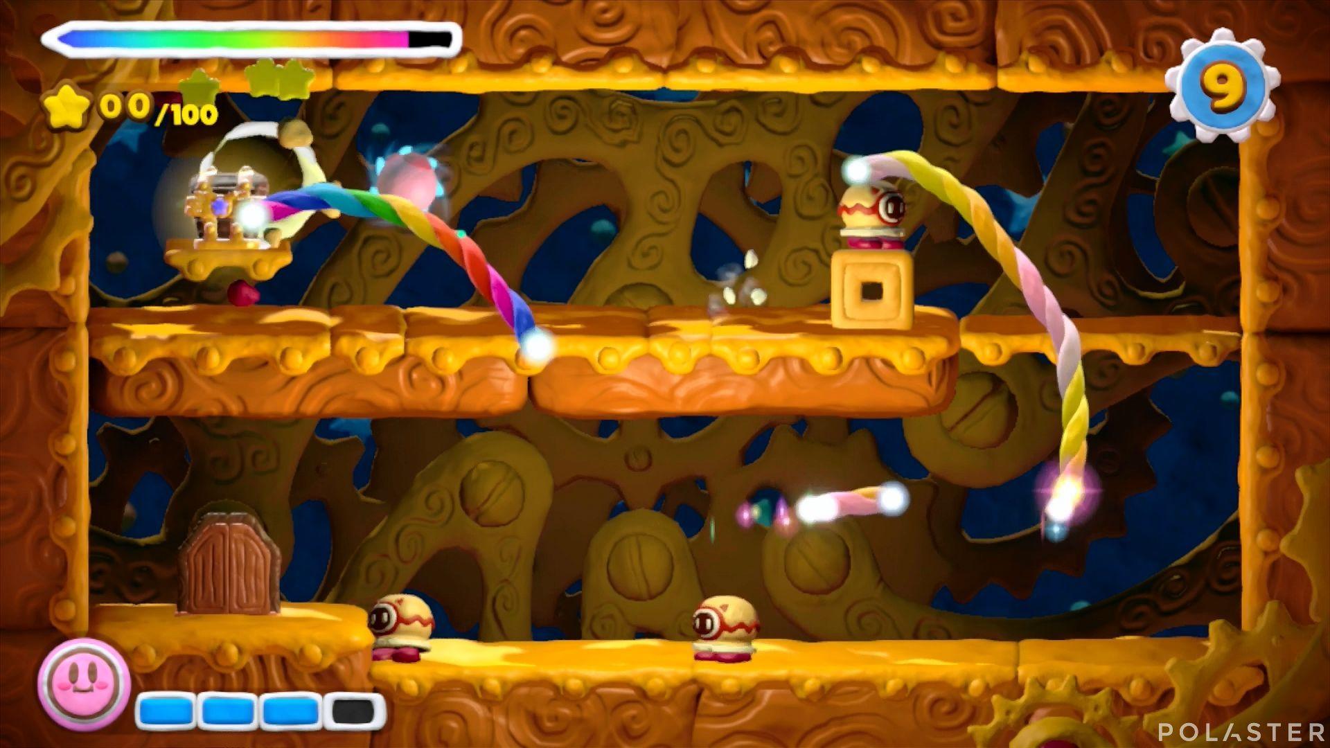 Kirby y el Pincel Arcoíris - Desafío 8 Cofre 1