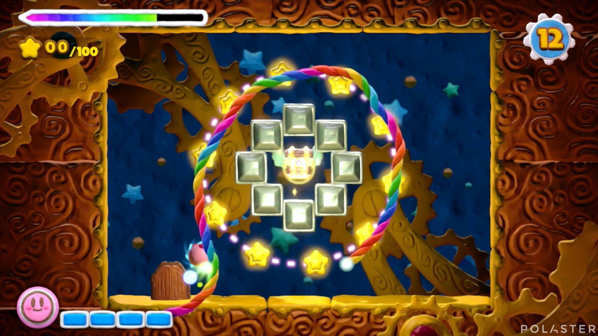 Kirby y el Pincel Arcoíris - Desafío 8 Cofre 10