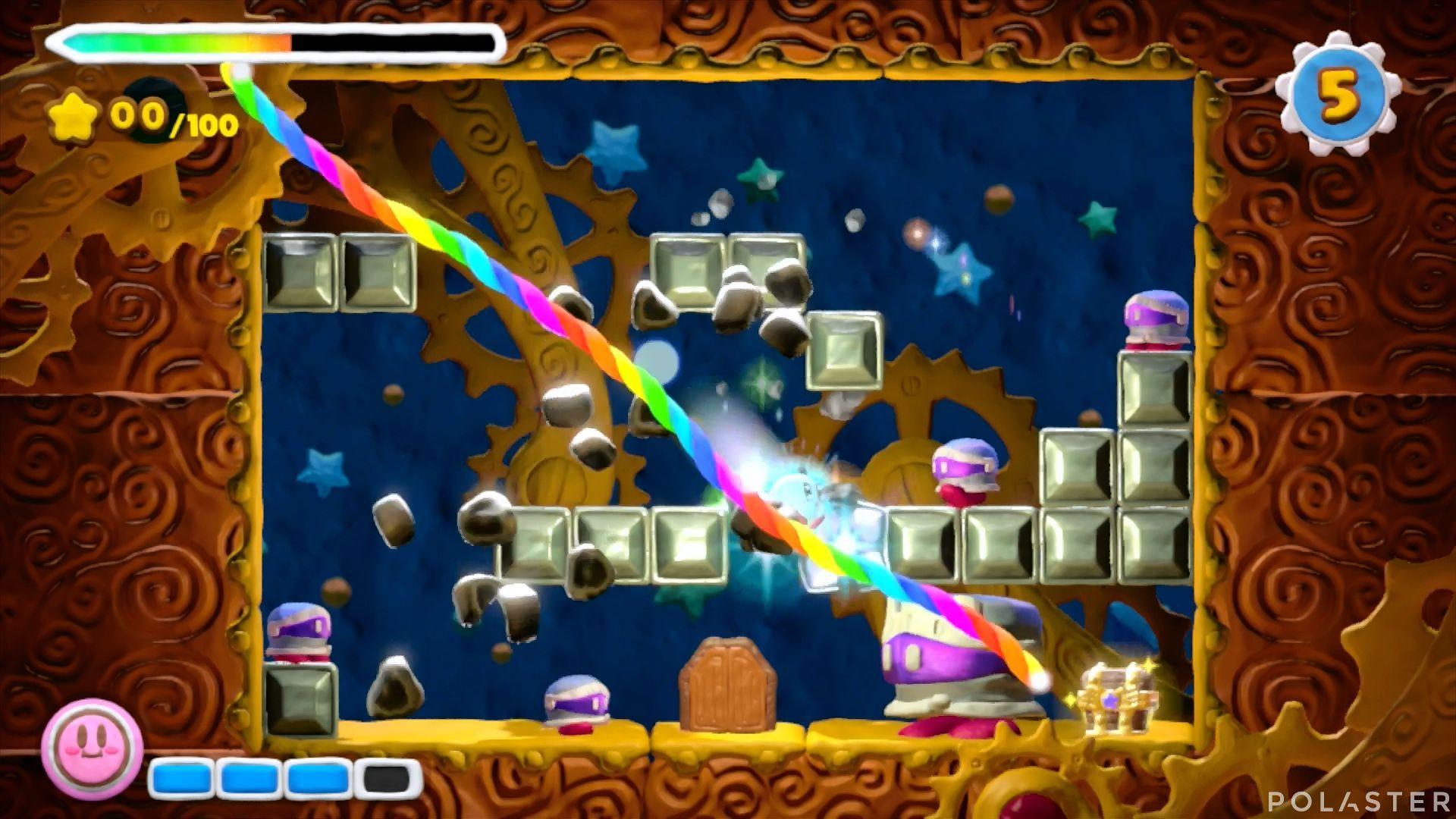 Kirby y el Pincel Arcoíris - Desafío 8 Cofre 12
