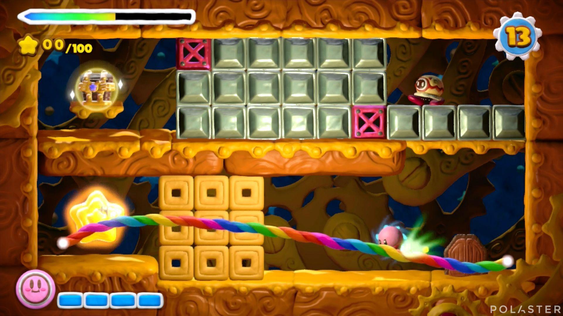 Kirby y el Pincel Arcoíris - Desafío 8 Cofre 4