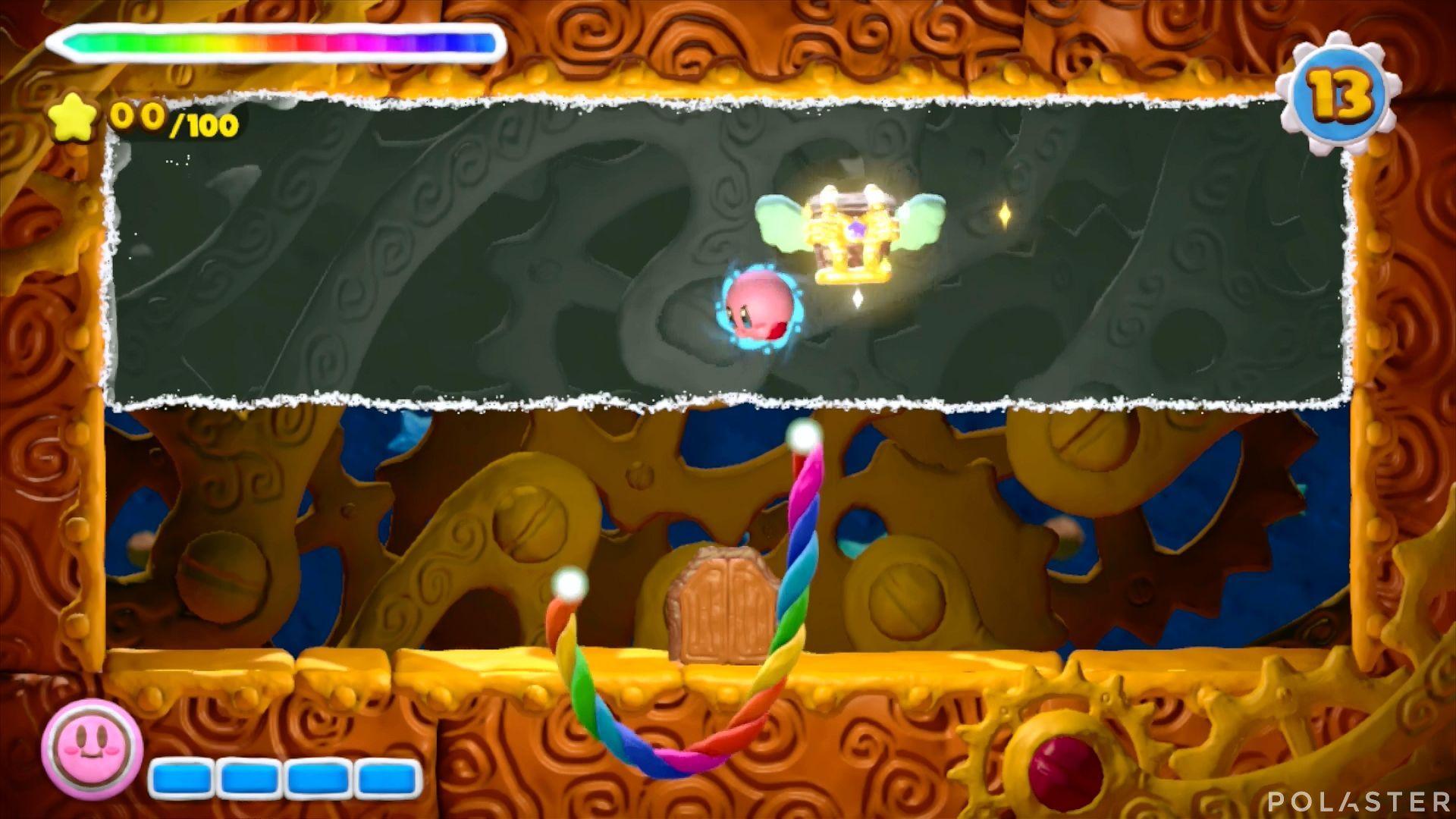 Kirby y el Pincel Arcoíris - Desafío 8 Cofre 5