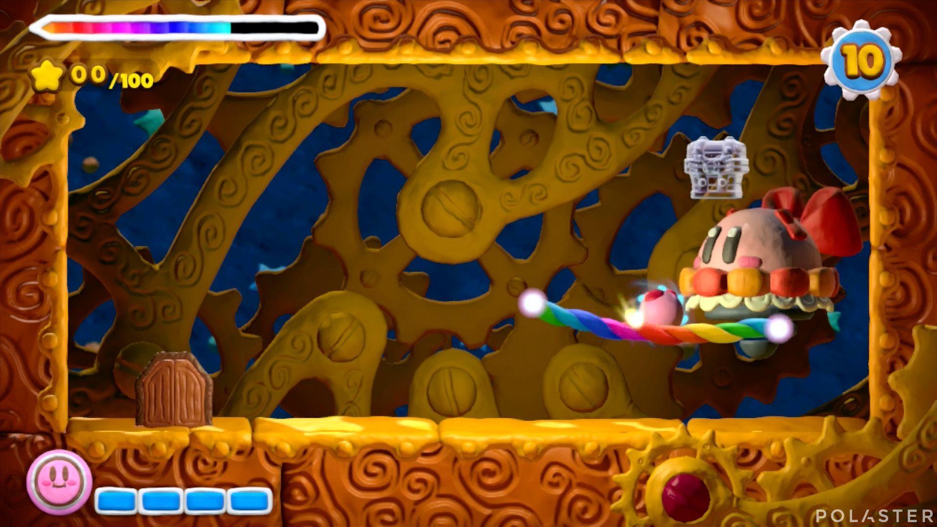Kirby y el Pincel Arcoíris - Desafío 8 Cofre 6