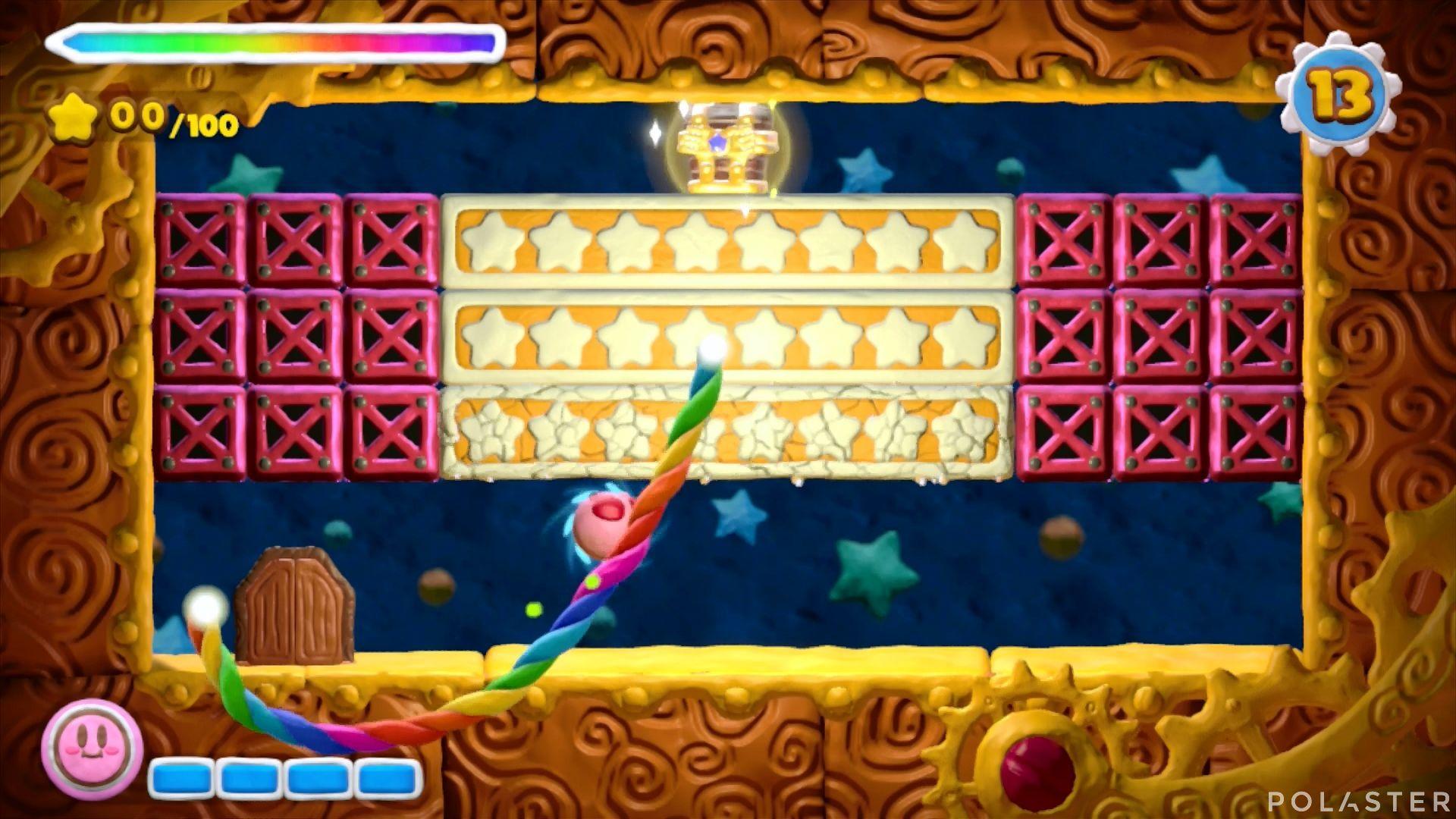 Kirby y el Pincel Arcoíris - Desafío 8 Cofre 7