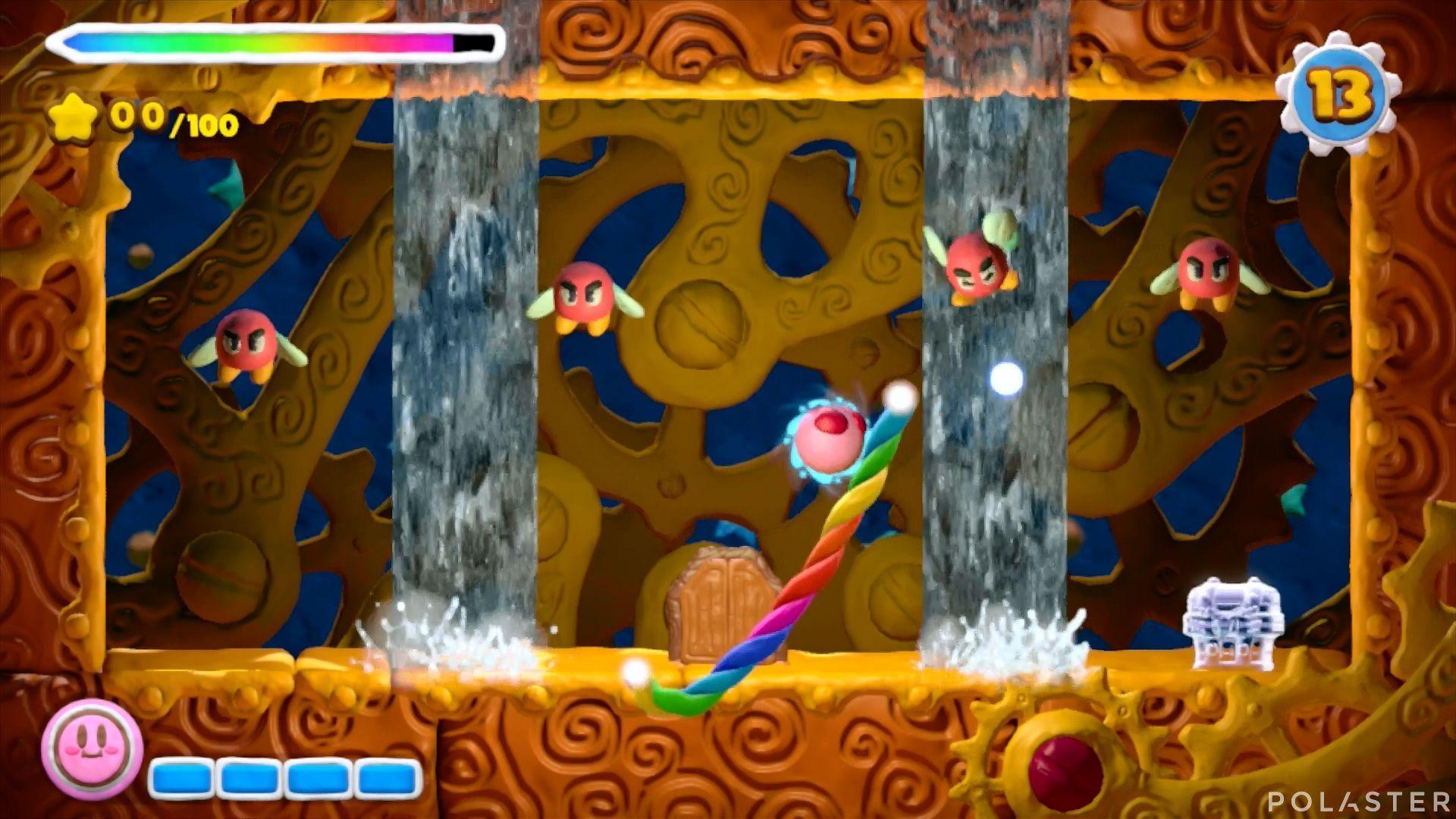 Kirby y el Pincel Arcoíris - Desafío 8 Cofre 8