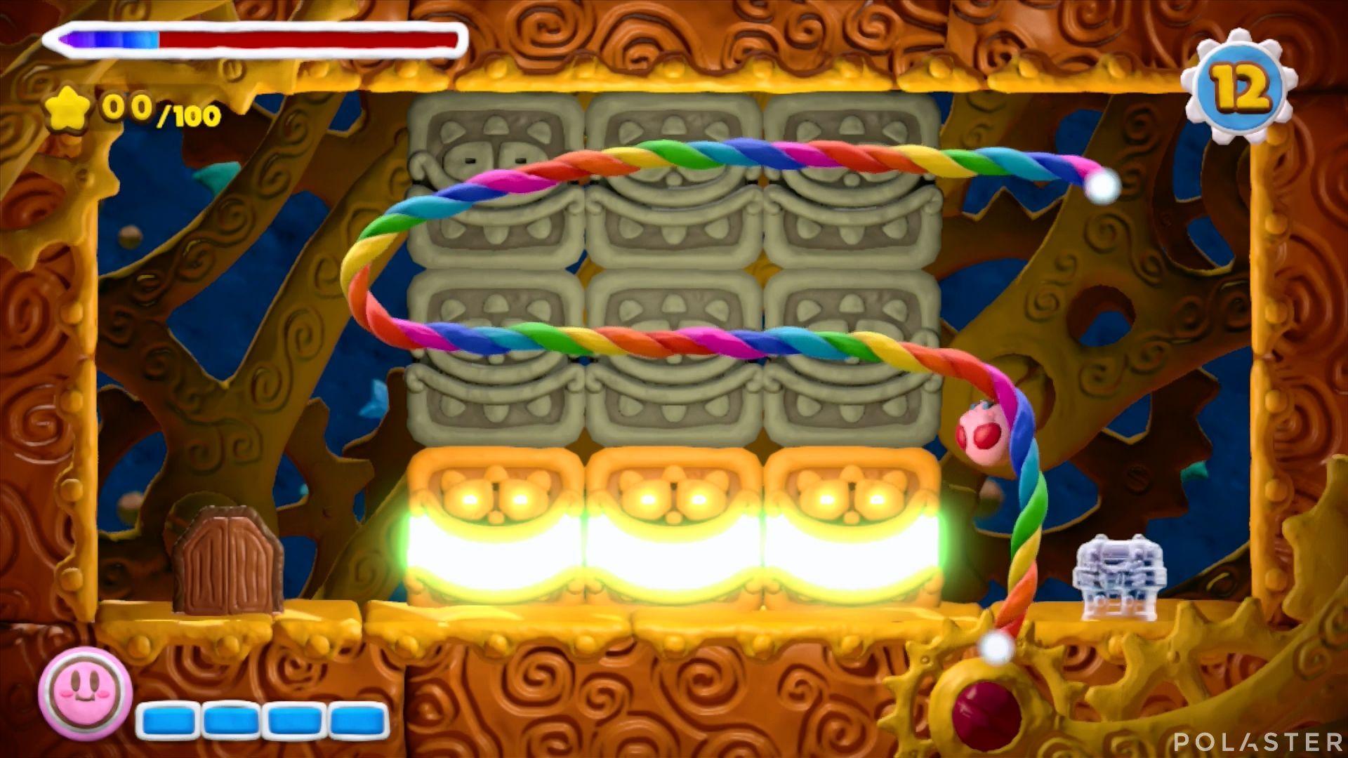 Kirby y el Pincel Arcoíris - Desafío 8 Cofre 9