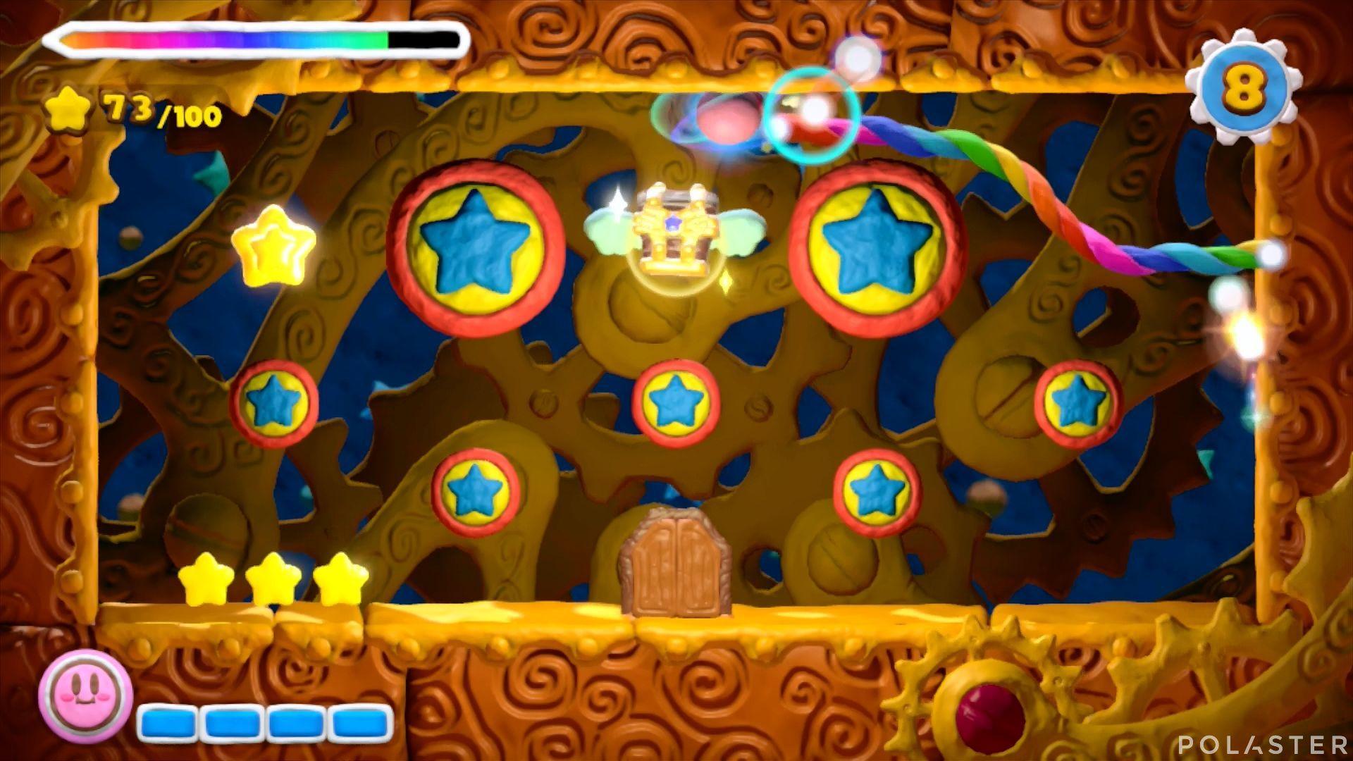Kirby y el Pincel Arcoíris: Nivel 1-2 Cofre 3