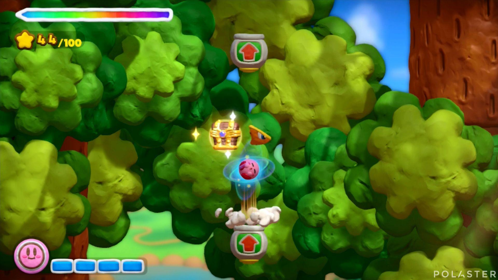 Kirby y el Pincel Arcoíris: Nivel 1-2 Cofre 4