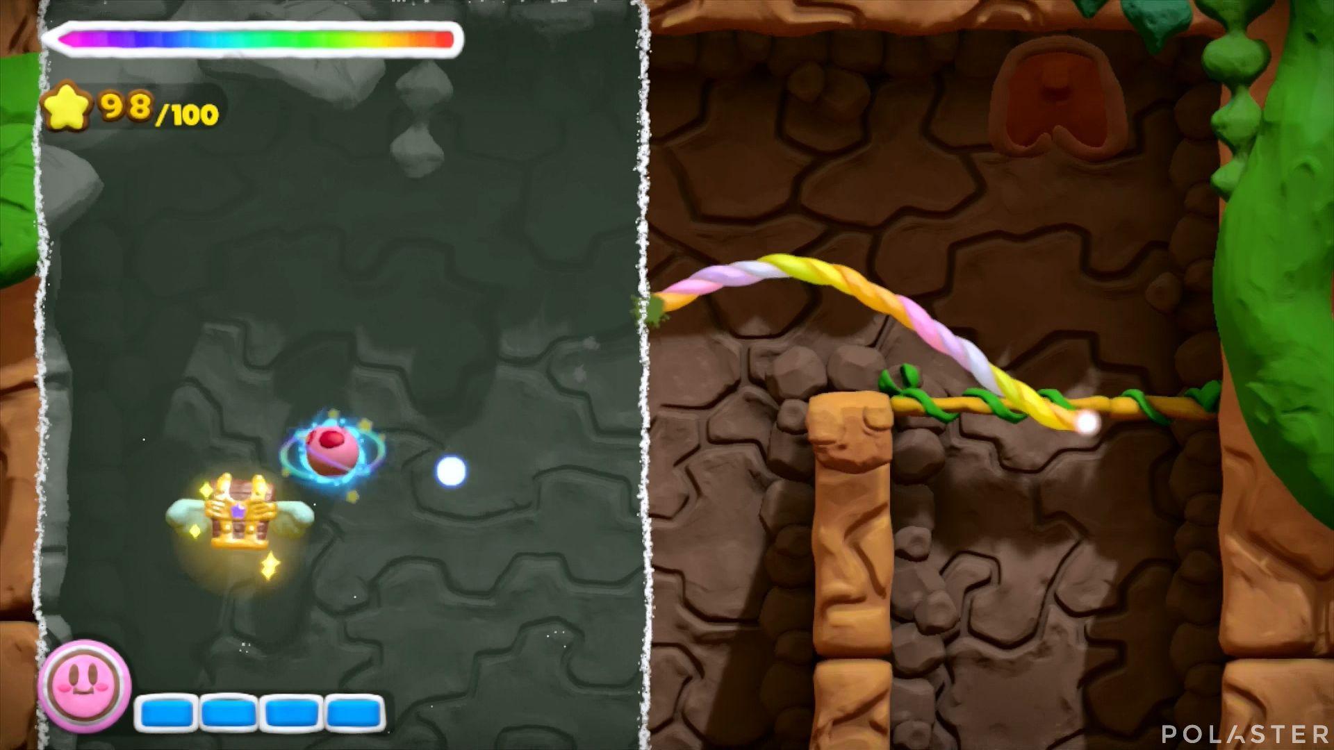 Kirby y el Pincel Arcoíris: Nivel 1-3 Cofre 5