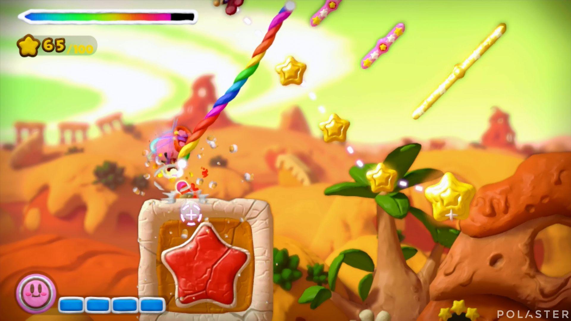 Kirby y el Pincel Arcoíris: Nivel 2-2 Cofre 4