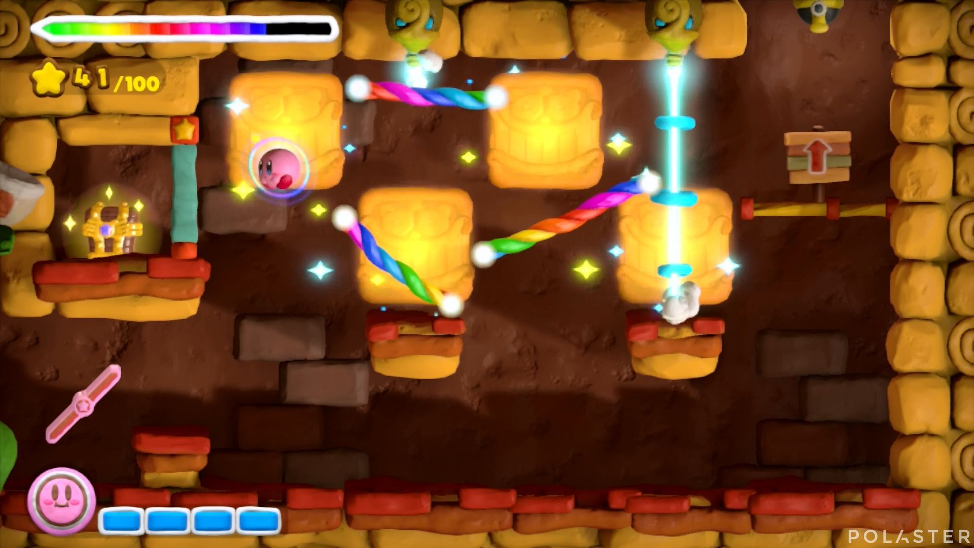 Kirby y el Pincel Arcoíris: Nivel 2-3 Cofre 2