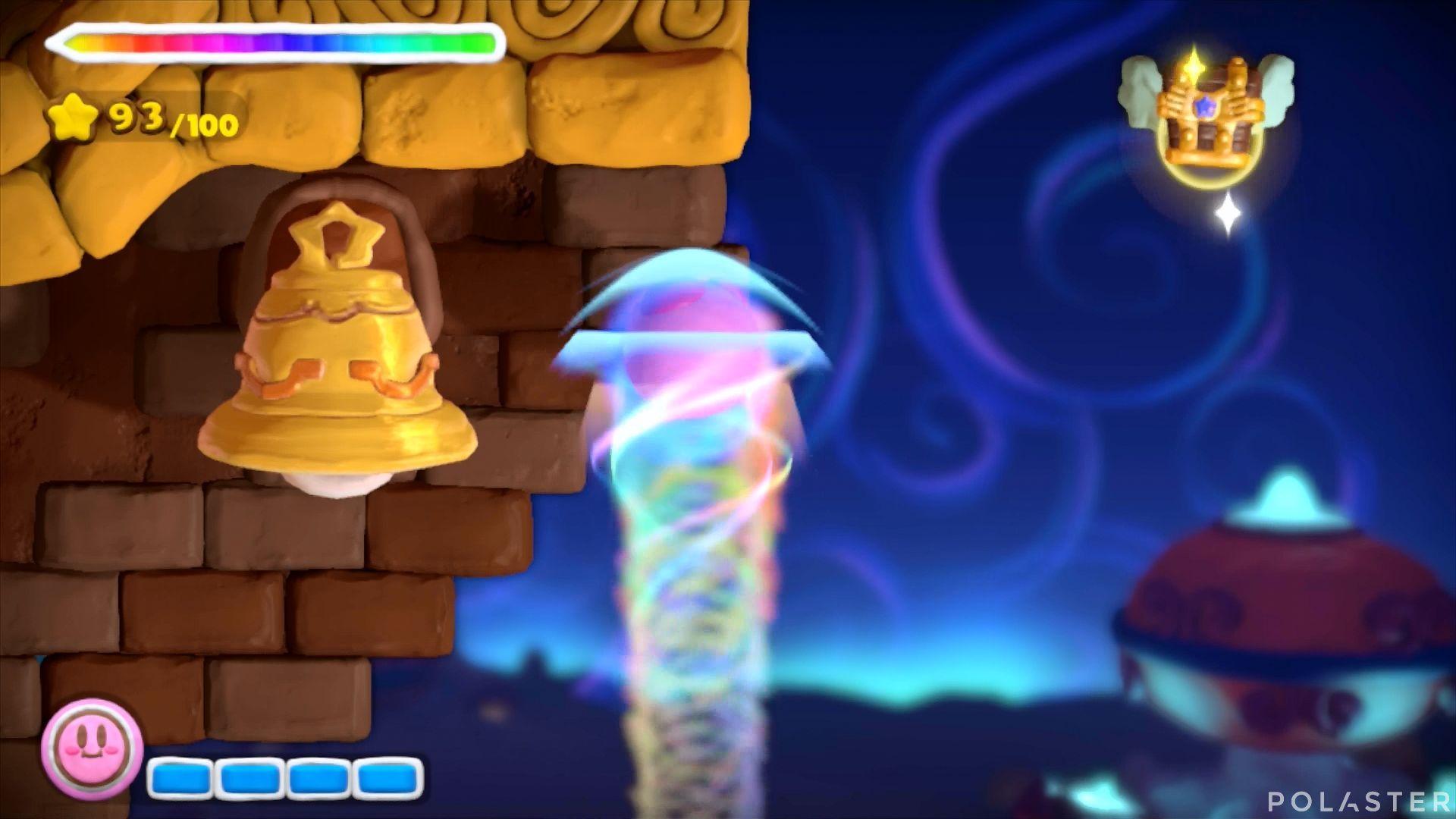 Kirby y el Pincel Arcoíris: Nivel 2-3 Cofre 5