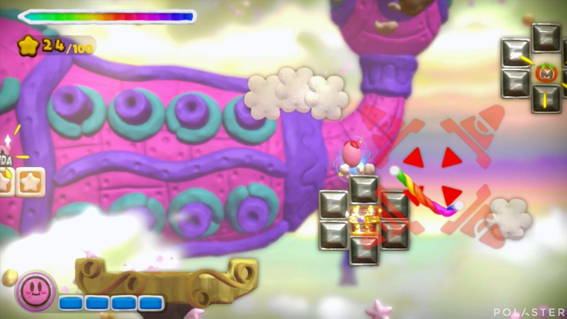 Kirby y el Pincel Arcoíris: Nivel 4-2 Cofre 4