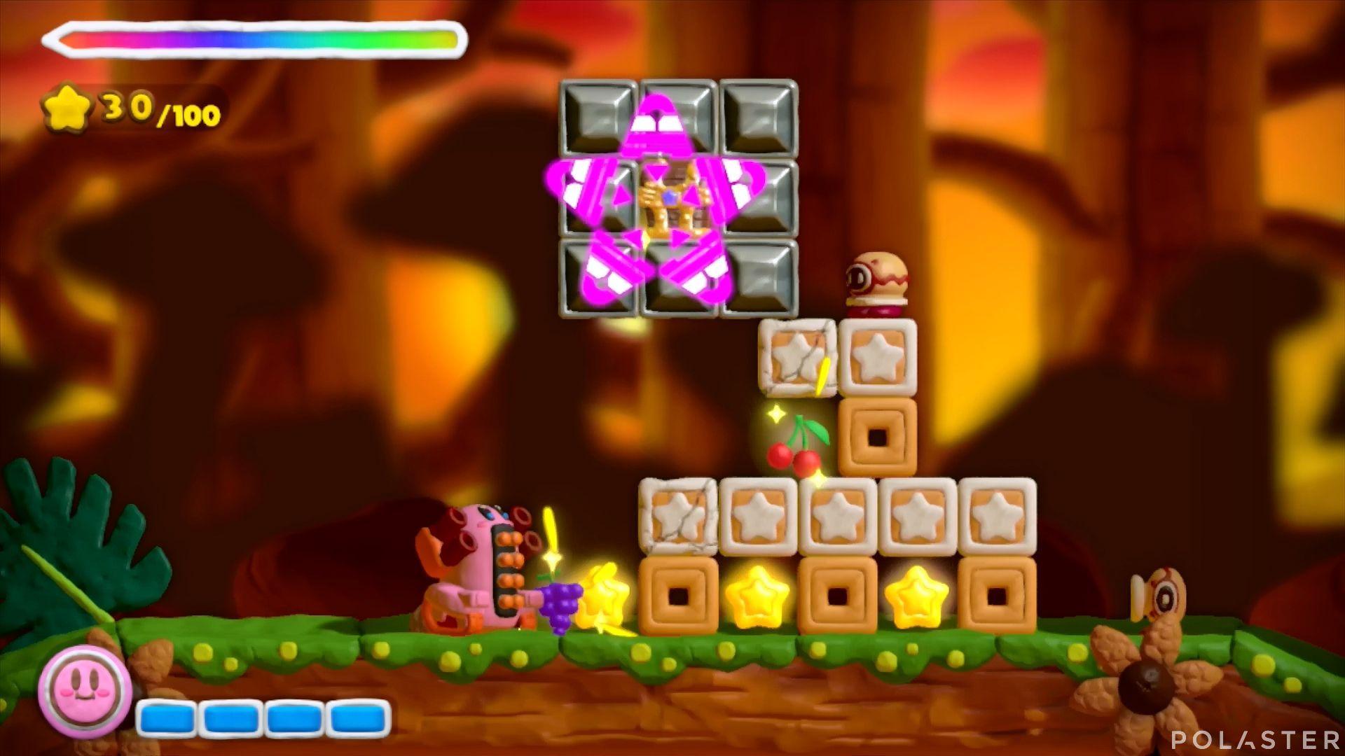 Kirby y el Pincel Arcoíris: Nivel 5-1 Cofre 1