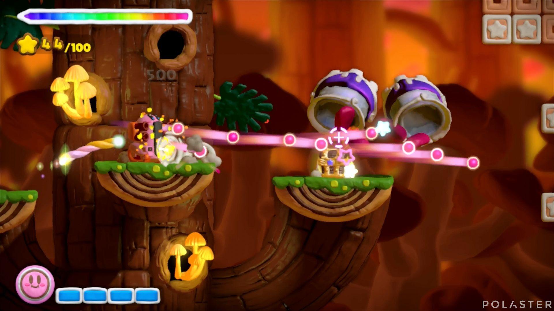 Kirby y el Pincel Arcoíris: Nivel 5-1 Cofre 2