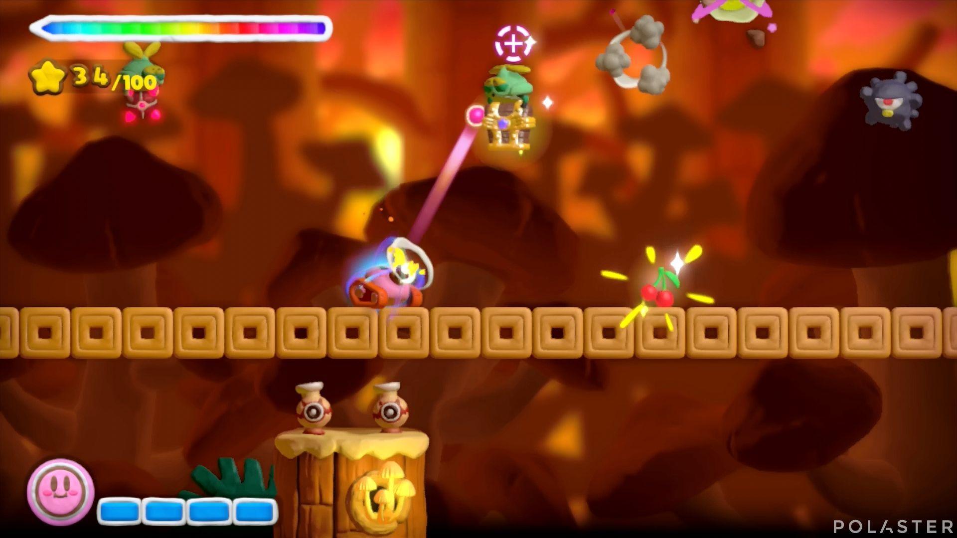 Kirby y el Pincel Arcoíris: Nivel 5-1 Cofre 4