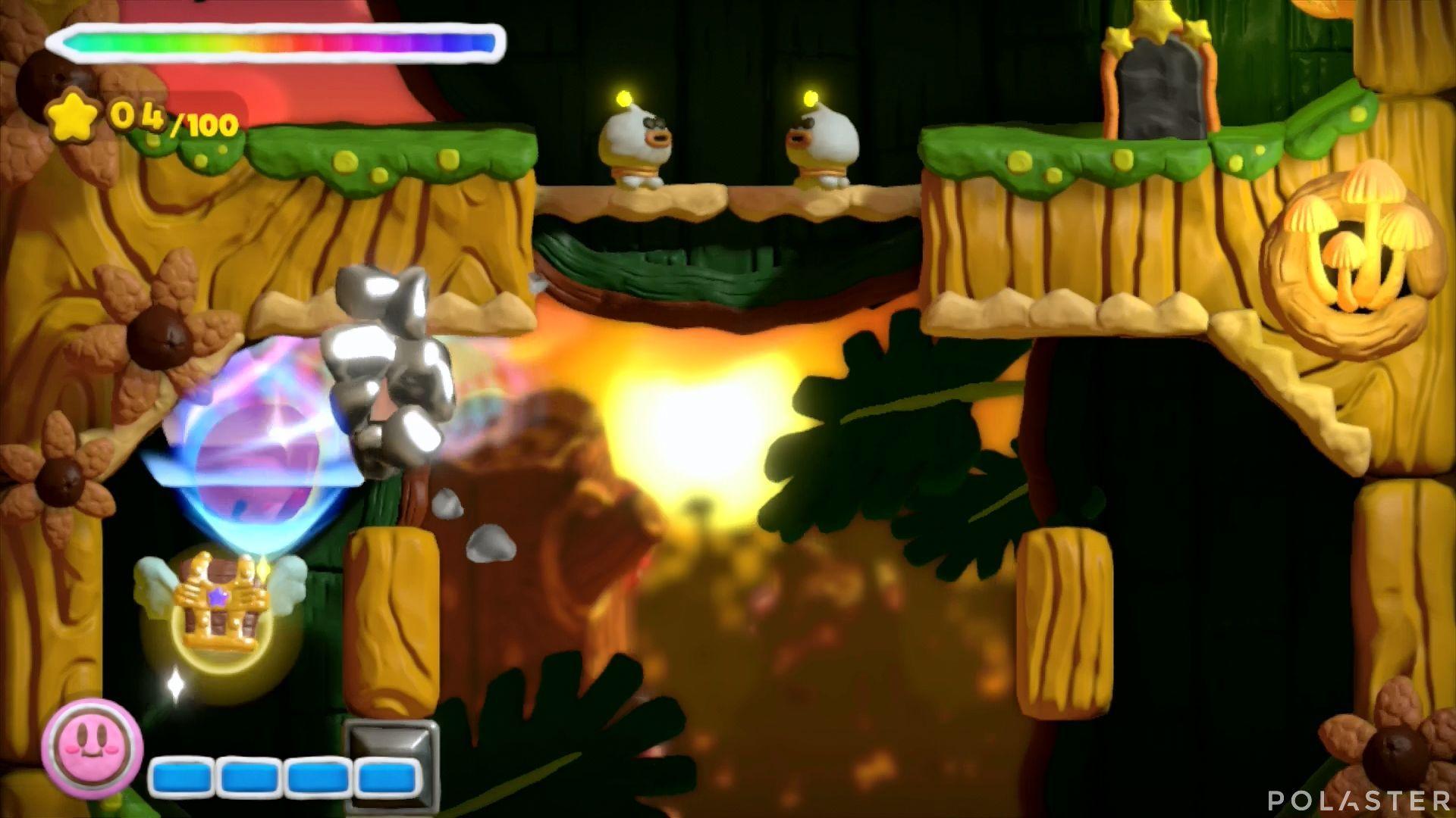Kirby y el Pincel Arcoíris: Nivel 5-2 Cofre 2
