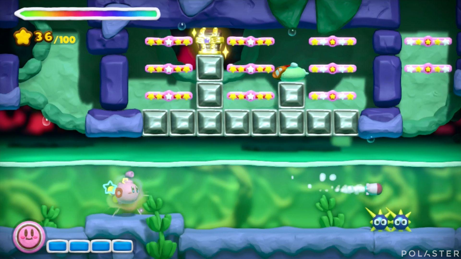 Kirby y el Pincel Arcoíris: Nivel 5-3 Cofre 2