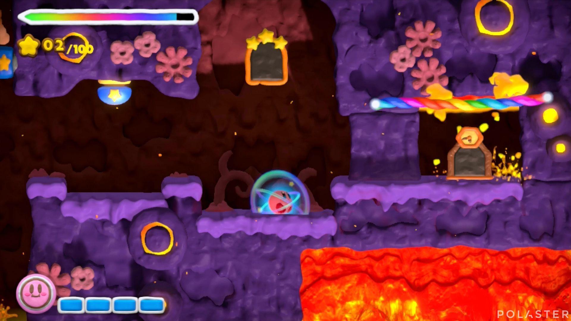 Kirby y el Pincel Arcoíris: Nivel 6-1 Cofre 2
