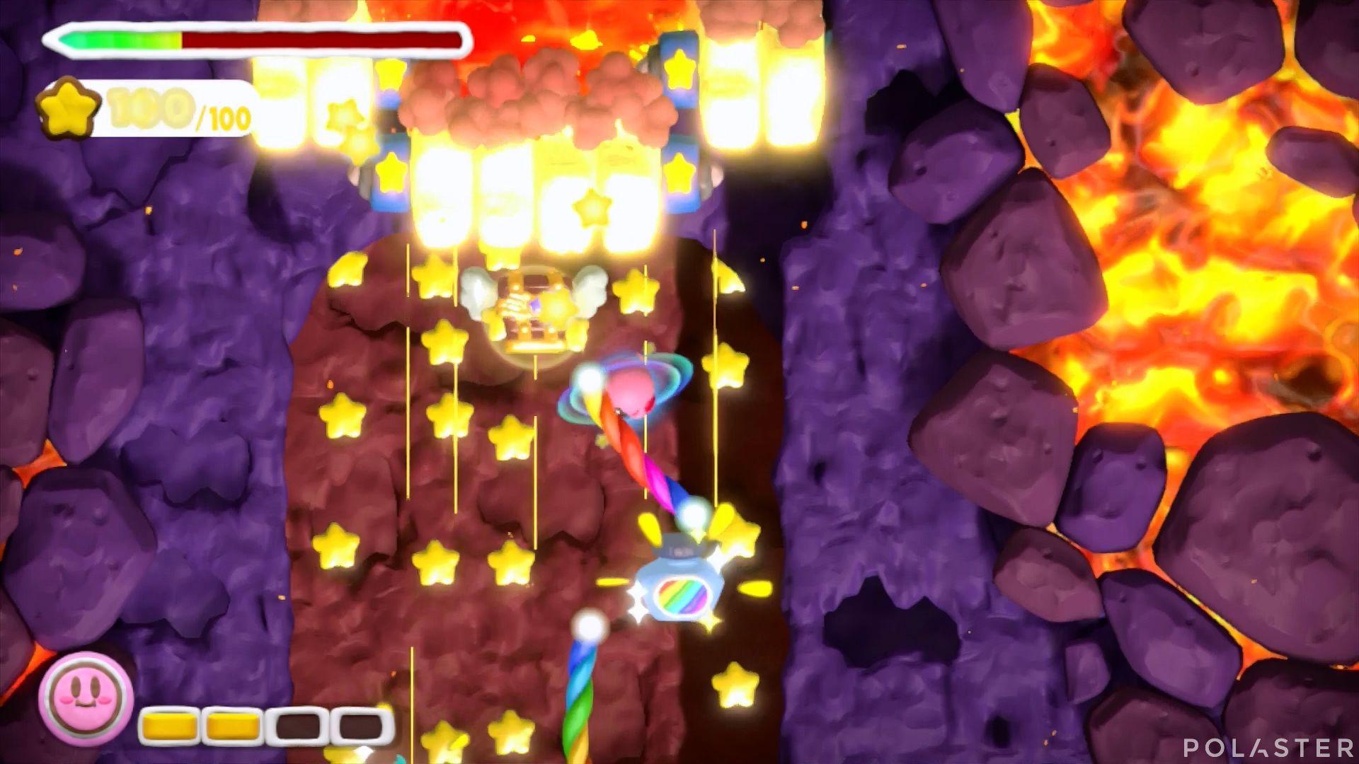 Kirby y el Pincel Arcoíris: Nivel 6-1 Cofre 3