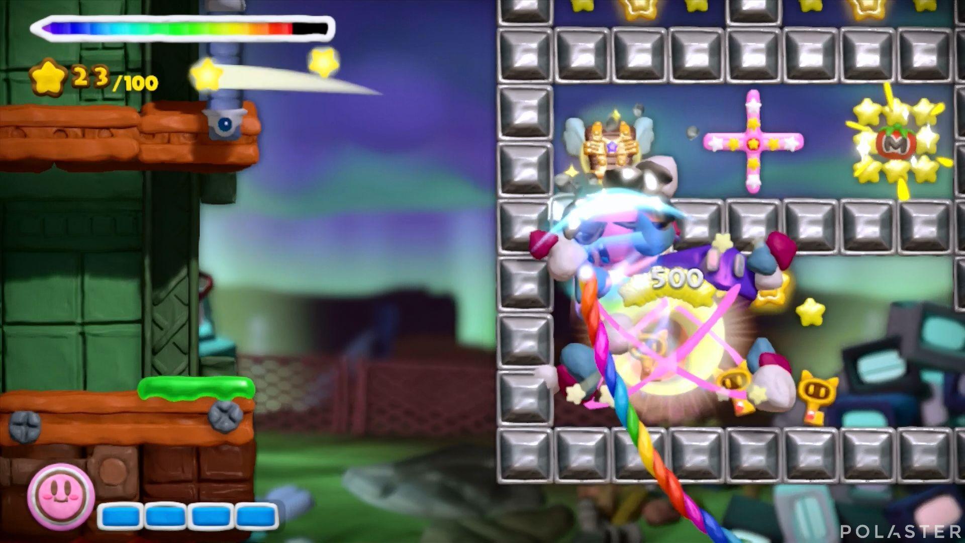 Kirby y el Pincel Arcoíris: Nivel 7-1 Cofre 1