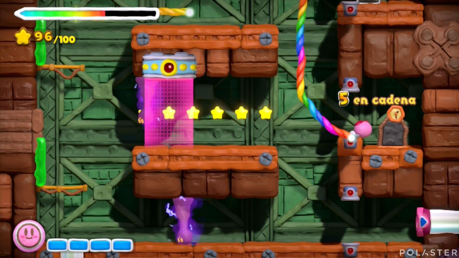 Kirby y el Pincel Arcoíris: Nivel 7-1 Cofre 2