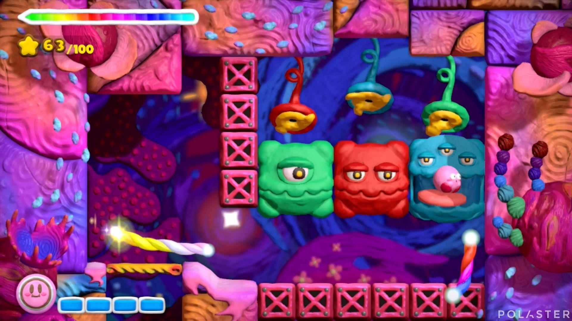Kirby y el Pincel Arcoíris: Nivel 7-3 Cofre 2