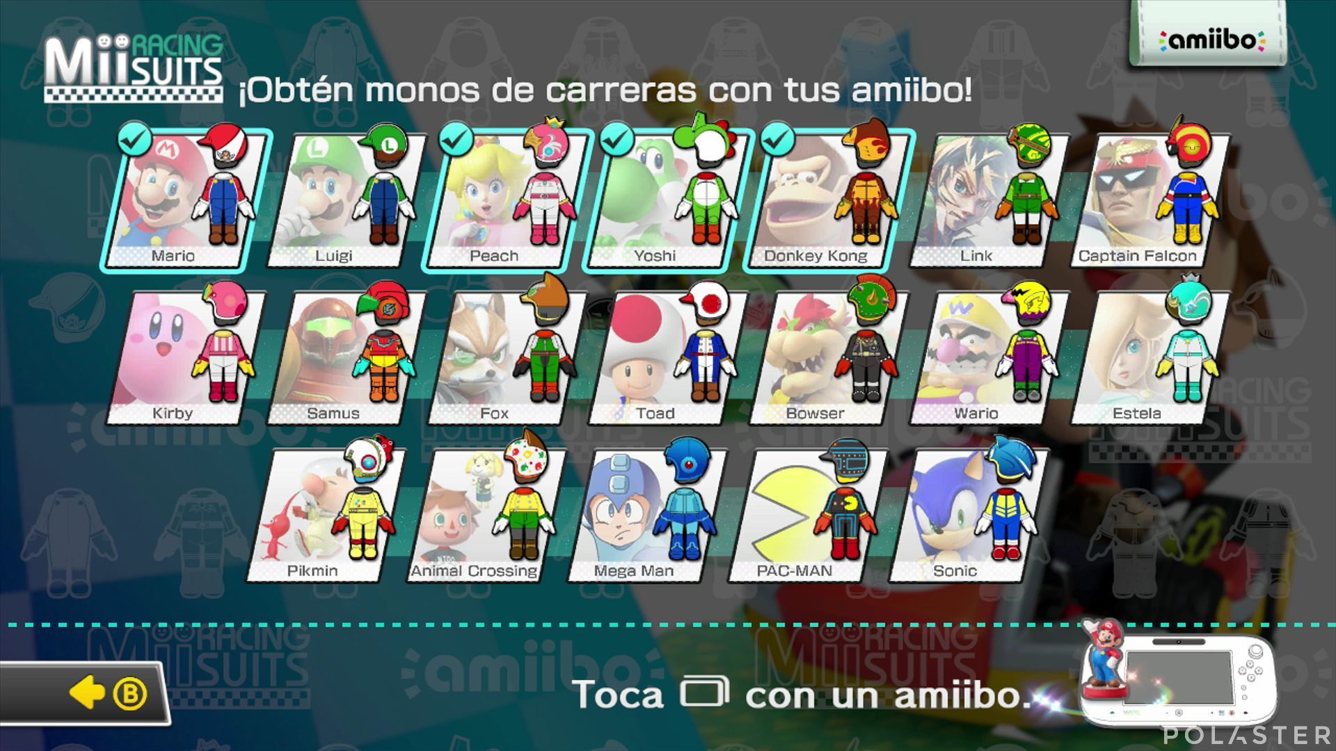 Mario Kart 8 - amiibo