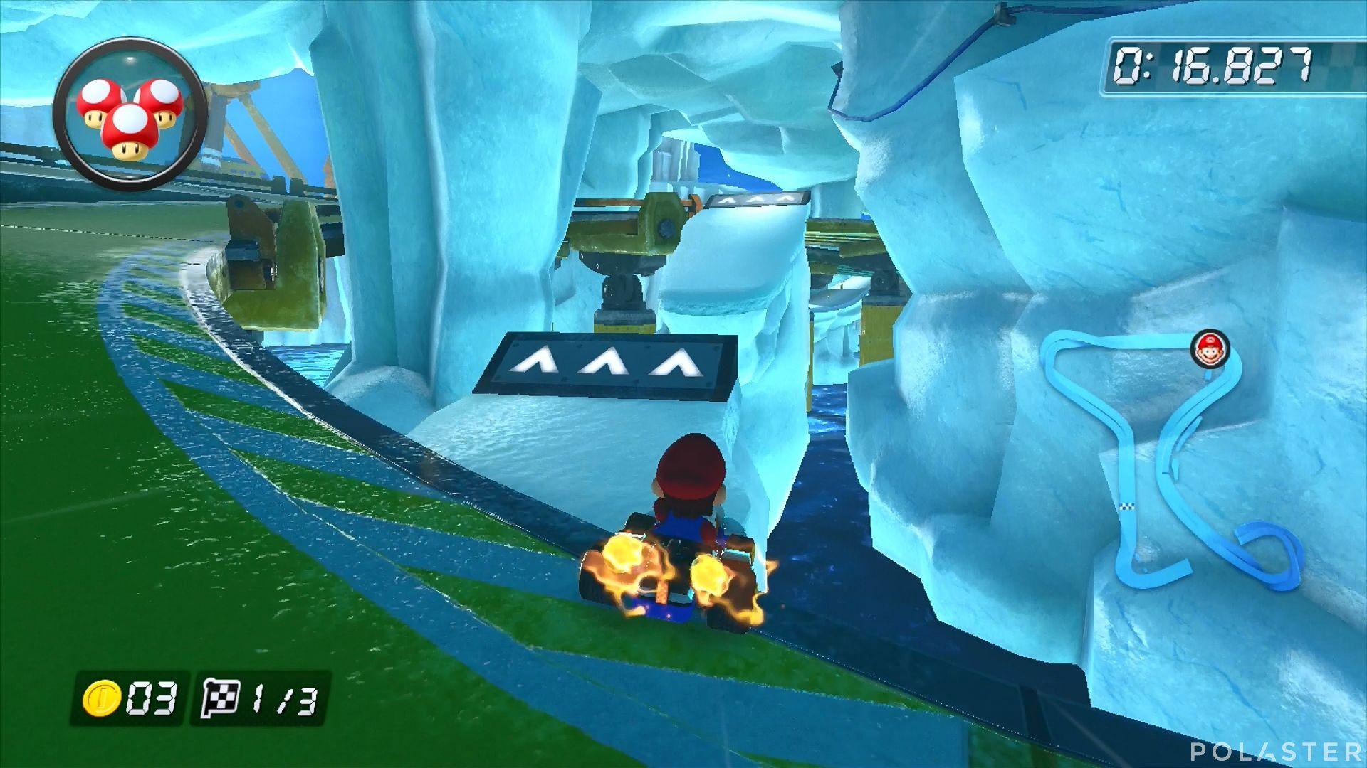 Mario Kart 8 - Base Polar