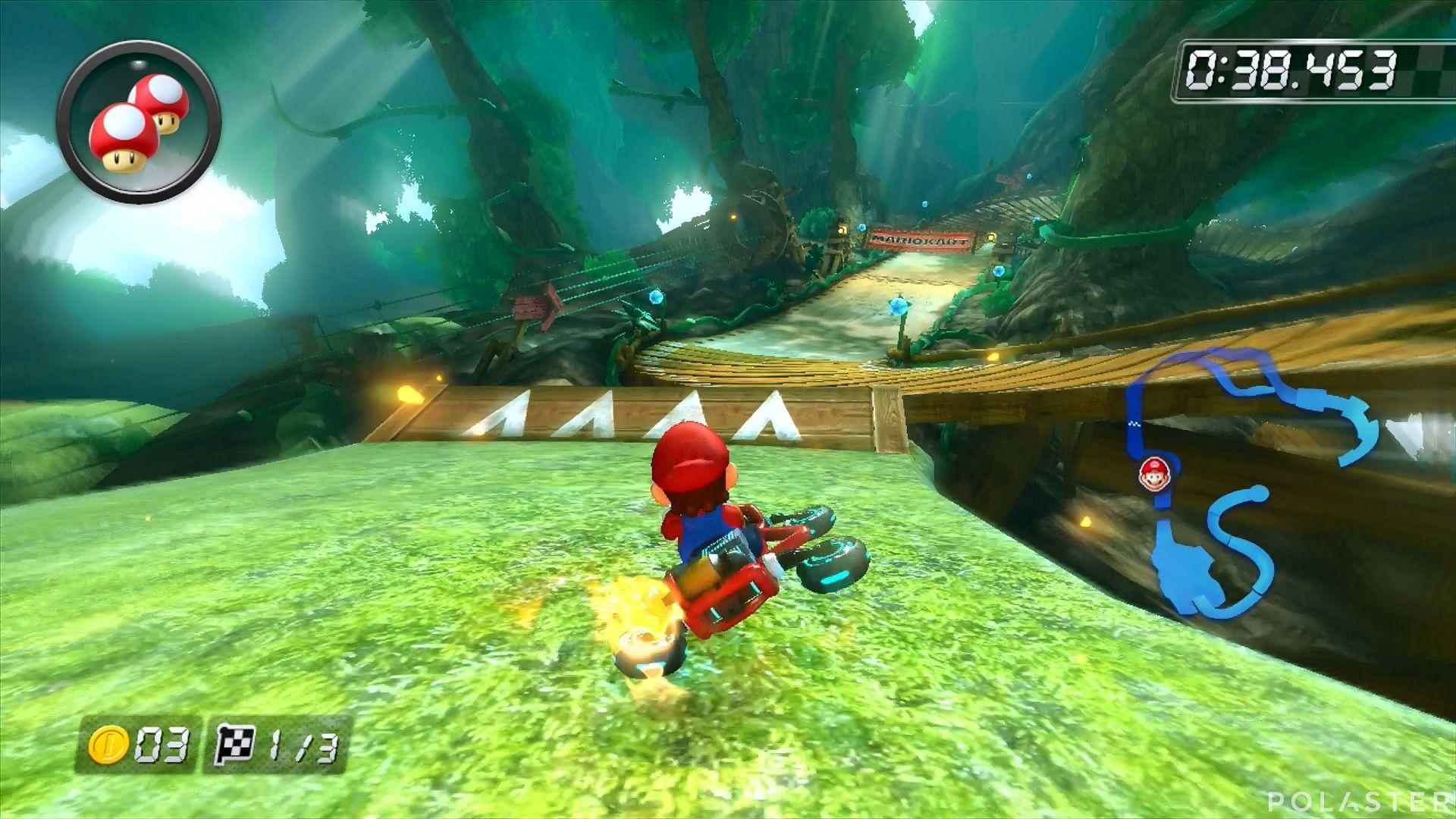 Mario Kart 8 - Bosque Mágico