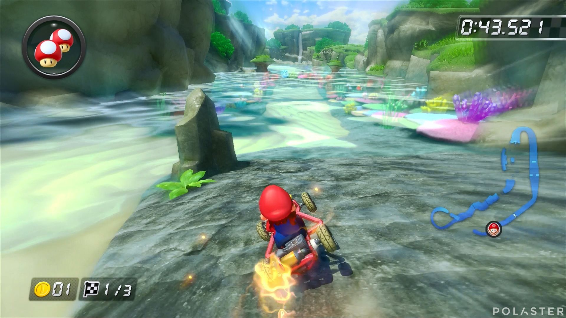 Mario Kart 8 - Cala Delfín
