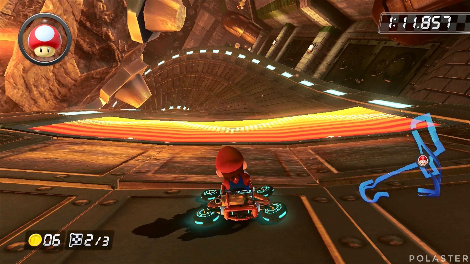 Mario Kart 8 - Castillo de Bowser