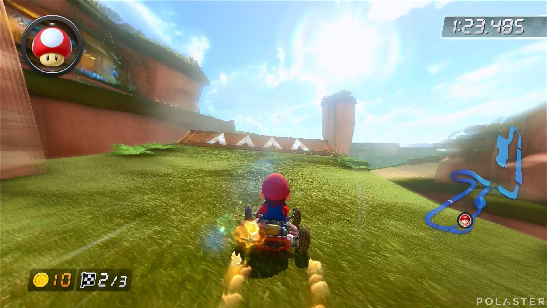 Mario Kart 8 - Cataratas Shy Guy