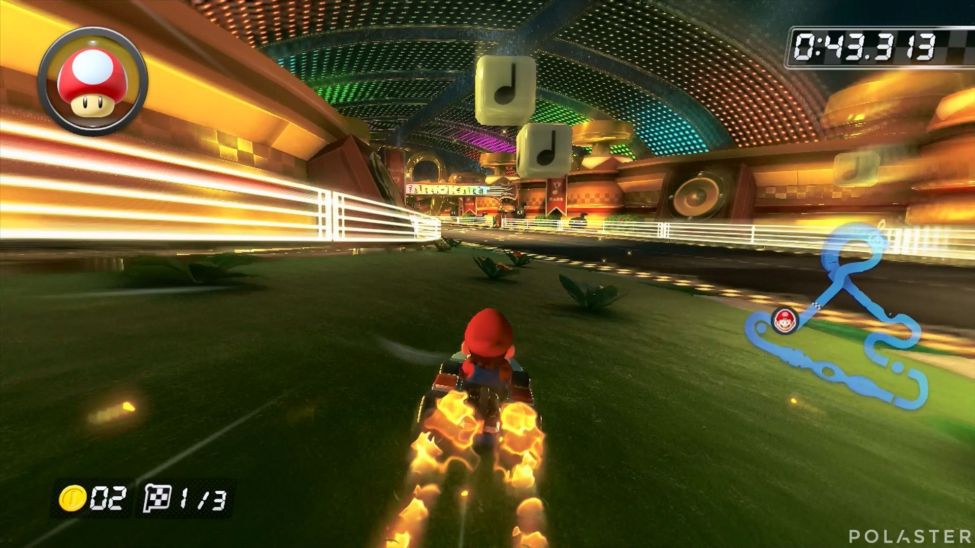 Mario Kart 8 - Circuito Musical