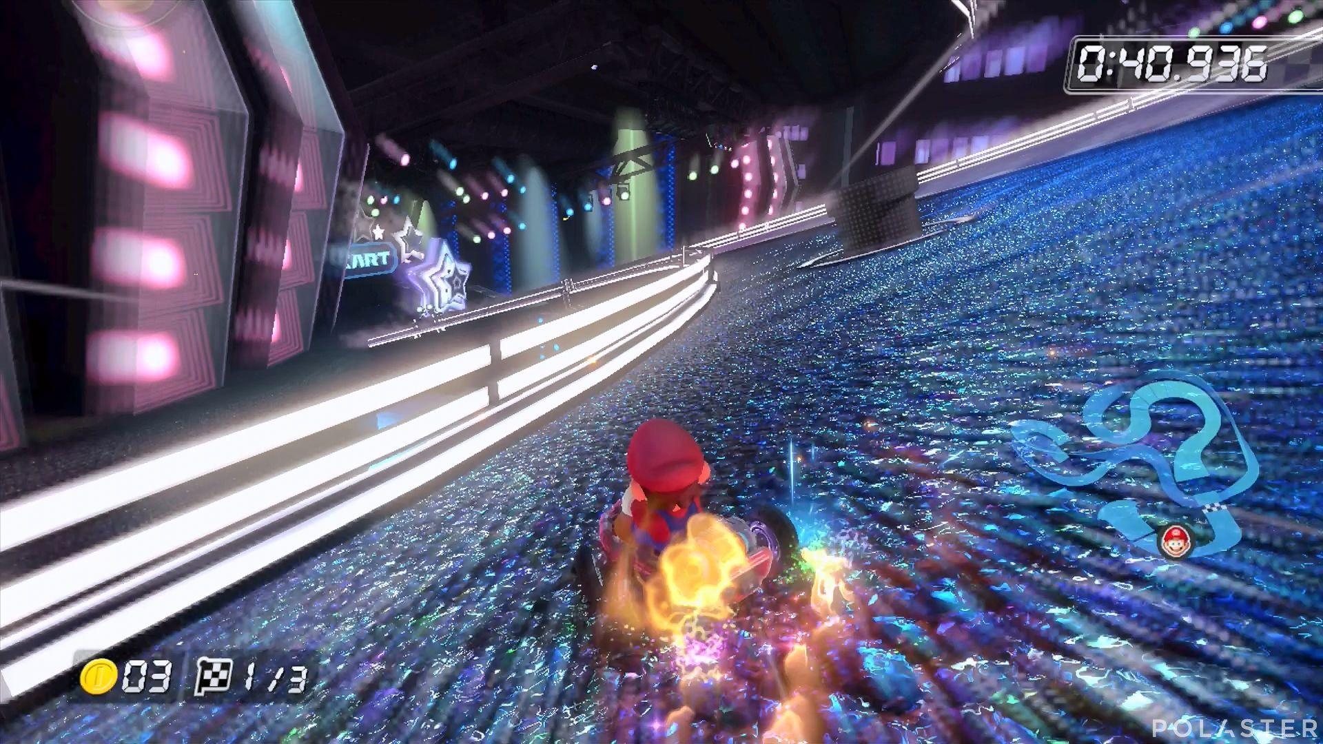 Mario Kart 8 - Discoestadio