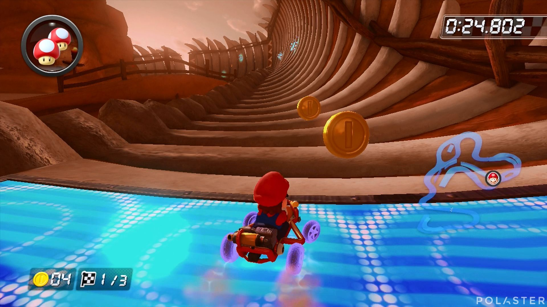 Mario Kart 8 - Dunas Huesitos