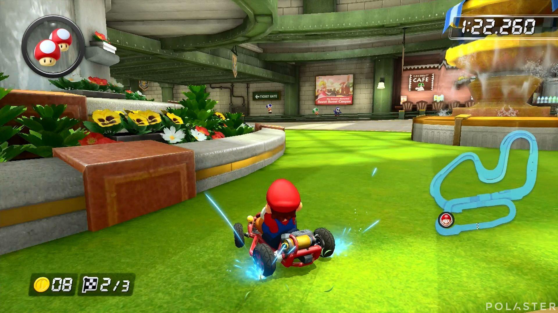 Mario Kart 8 - Estación Tilín-Tolón