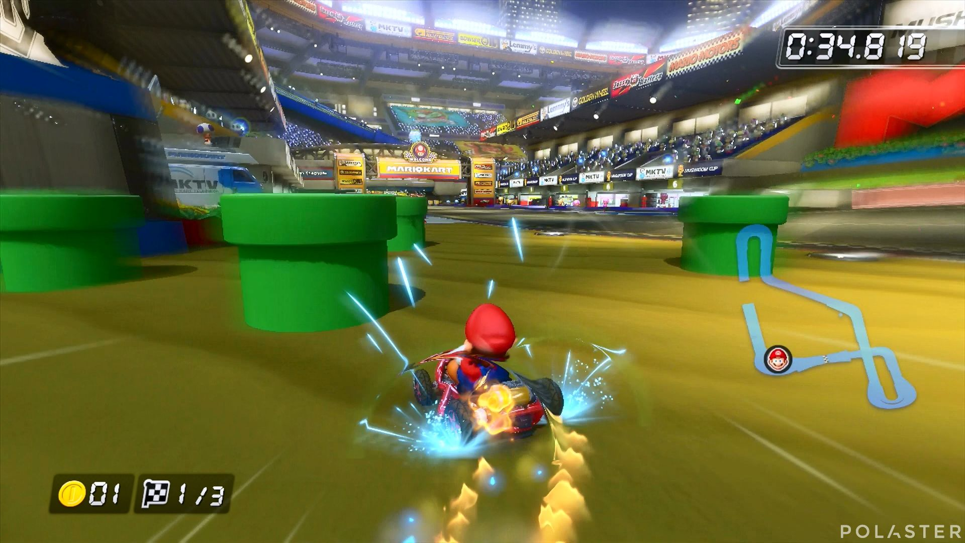 Mario Kart 8 - Estadio Mario Kart