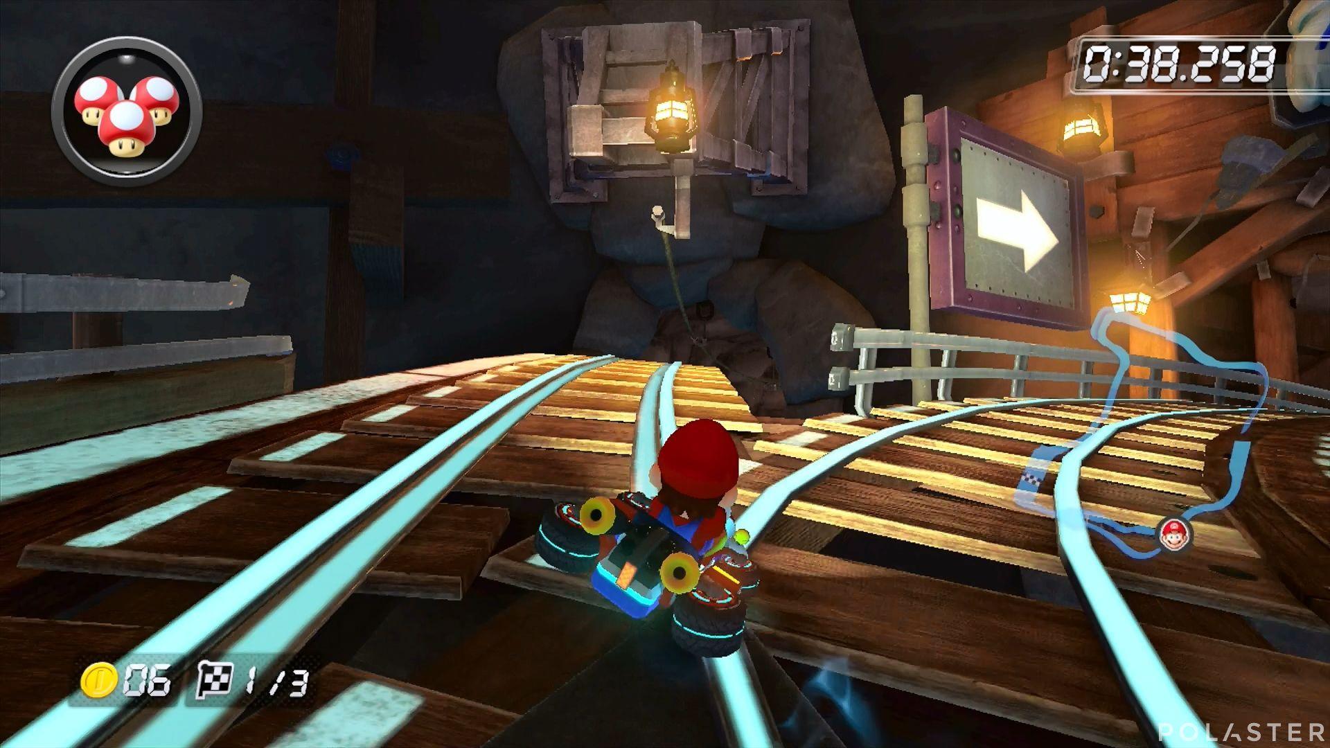 Mario Kart 8 - Mina de Wario