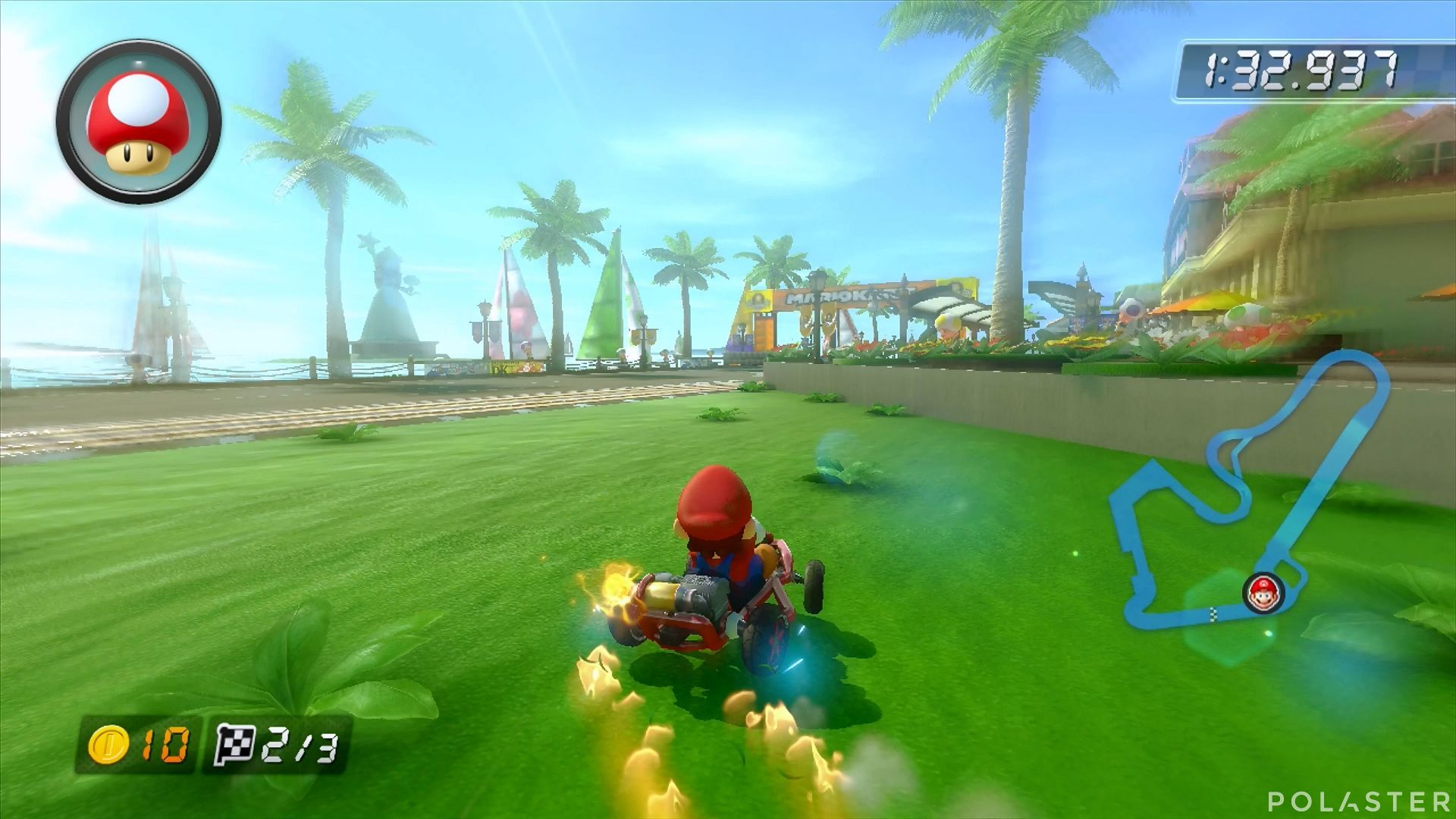 Mario Kart 8 - Puerto Toad