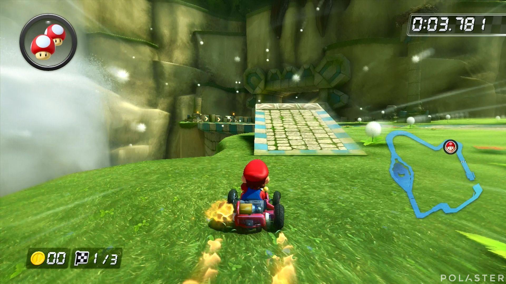 Mario Kart 8 - Ruinas Roca Picuda